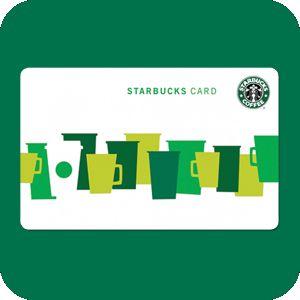 Transmitido moneda móvil [y café starbucks] con la tarjeta de jonathan